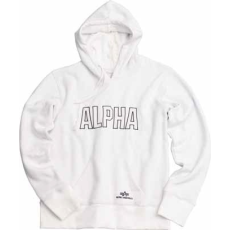 Alpha Industries Track Hoody - fehér