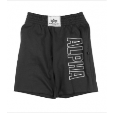 Alpha Industries Track Short - fekete