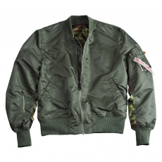 Alpha Industries MA-1 Reversible Camo - sage green