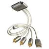 Inakustik 00440101 Premium kábel Apple - USB/RCA AV (1m)