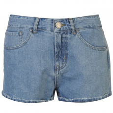 Firetrap Blackseal női rövidnadrág - High Waist Denim