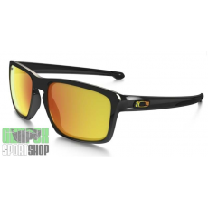 OAKLEY Sliver Valentino Rossi Signature Series Polished Black Fire Iridium