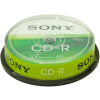 Sony 10CDQ80SP CD-R, 10 db, hengeren