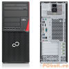 Fujitsu Esprimo P756 E90+ Intel Core i7-6700,Intel Q150,8GB,2133MHz,Gigabit,Realtek ALC671,SSD 256GB,Intel HD Graphics 530,USB3.0x4, 6xUSB,DVI,175x419x395mm,Billentyűzet,Egér,Black,Windows 10 Pro,Optikai megh