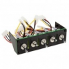 Lamptron Hummer, Military Style Switch Panel - fekete