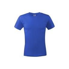 KEYA unisex pamut póló, királykék (Keya unisex környakas pamut póló, 180g/m2, 100% gyűrü fonásu pamut.)
