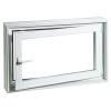ACO MARKANT Therm hőszgetelt ablak kerettel, jobbos 100x75x30cm-es