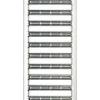 ACO SELF horganyzott acél bordásrács 1 m