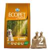 Ecopet Natural Adult Medium Lamb 2*14kg