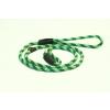 Sokdog fojtó póráz 8mm/120 cm zöld bikolor