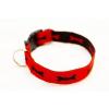 Sokdog piros, csontmintás nyakörv M