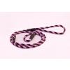 Sokdog fojtó póráz 8mm/120 cm pink-bordó
