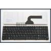 Asus K52DY fekete magyar (HU) laptop/notebook billentyűzet