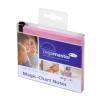 LEGAMASTER Magic-Chart Notes- elektrosztatikus jegyzettömb 10x10 cm rózsaszín