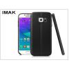 IMAK Samsung G930F Galaxy S7 hátlap képernyővédő fóliával - IMAK Vega Leather - fekete