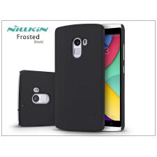 Nillkin Lenovo Vibe X3 Lite/Vibe K4 Note hátlap képernyővédő fóliával - Nillkin Frosted Shield - fekete tok és táska