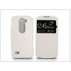 Haffner LG H340N Leon S-View Flexi oldalra nyíló flipes tok - fehér