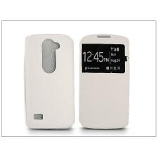 Haffner LG H340N Leon S-View Flexi oldalra nyíló flipes tok - fehér tok és táska