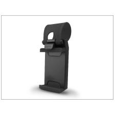 Haffner Univerzális, kormányra szerelhető autós tartó - fekete/piros mobiltelefon kellék