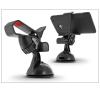 Haffner Univerzális PDA/GSM autós tartó - csipeszes - fekete/piros mobiltelefon kellék