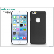 Apple iPhone 6/6S hátlap képernyővédő fóliával - Nillkin Frosted Shield - fekete tok és táska