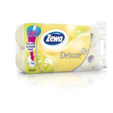 ZEWA Deluxe Aqua Tube 3 rétegű toalettpapír jázmin 8db fürdőszoba kiegészítő