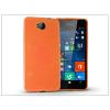 Microsoft Lumia 650 szilikon hátlap - Jelly Flash - narancs