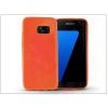 Haffner Samsung G930F Galaxy S7 szilikon hátlap - Jelly Flash - narancs