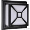 RÁBALUX Rábalux DARIUS 8189 fekete 2 x E27 max. 60W 290 x 290 x 105 mm