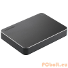 "Toshiba 2TB 2,5"" CANVIO PREMIUM MAC USB3.0 Aluminium/Metal Black"