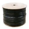 Koax kábel RG6 réz Trishield Black 305