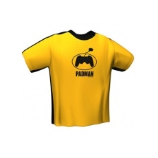GamersWear GamersWear PADMAN T-Shirt Yellow (S)