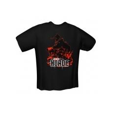 GamersWear FOR THE HORDE T-Shirt Black (M)