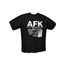 GamersWear AFK T-Shirt Black (M)
