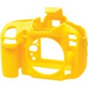 Easycover szilikon tok - Nikon D600 / D610 - sárga