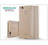 Huawei P9 Lite oldalra nyíló flipes tok - Nillkin Sparkle - gold tok és táska