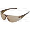 Munkavédelmi szemüveg barna karcmentes