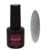 Master Nails MN 6ml Gel polish/030 Metál Ezüst   gél lakk 6 ml-es kiszerelésben
