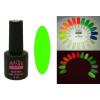 Master Nails MN 6ml Gel polish FLUO-09 Sötétben és UV fényben világító gél lakk 6ml-es kiszerelésben