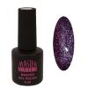 Master Nails MN 6ml Gel polish/080 Antracit lila   gél lakk 6 ml-es kiszerelésben