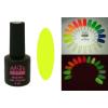 Master Nails MN 6ml Gel polish FLUO-01  Sötétben és UV fényben világító gél lakk 6ml-es kiszerelésben
