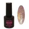Master Nails MN 6ml Gel polish/076 Csillámos Óarany  gél lakk 6 ml-es kiszerelésben