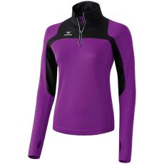 Erima Race Line Running Long-Sleeve lila/fekete hosszúujjú felső