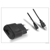 LG gyári USB hálózati töltő adapter + micro USB adatkábel - 5V/1,8A - MCS-04ER + DK-100M black (csomagolás nélküli)