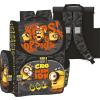 Minion, Minyon ergonómikus hátizsák, iskolatáska 36x28x17cm, szürke