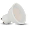 7W GU10 LED spot égõ 110° opál természetes fehér