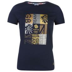 Adidas Póló adidas Team GB Foil női