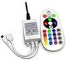 Infravörös működésű RGB LED vezérlő 12/24V 6Amper