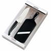 Kyocera kerámia kés készlet, Santoku kés + szeletelő fekete (FK-140WH202BKS)
