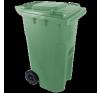 Háztartási szemetes kuka, zöld 240 L (11965) szemetes